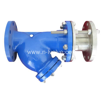 DIN Y Type Rod Telescopic Strainer